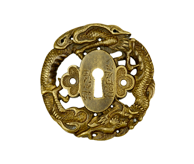 ASIAN STYLE ROUND KEYHOLE COVER