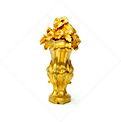 LOUIS XV STYLE SCULPTED BANISTER FINIAL - Zoom