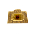 ARABIAN STYLE KNOB ON SQUARE BACKPLATE - Zoom