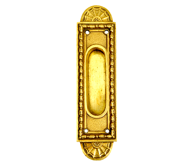 ENGLISH STYLE RECESSED OVAL KEYHOLE COVER