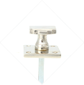 ART DÉCO STYLE KNOB ON SQUARE ROSE - Zoom